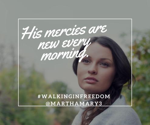 04092018 Mercies are new_JesusEpitomizesForgiveness